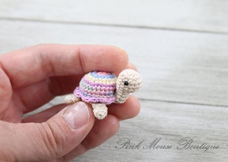 Little Miss Turtle Free Crochet Pattern Pink Mouse Boutique